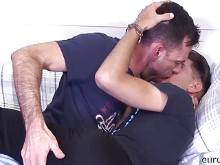 Gay cuties Ross Drake and Dave London are clearly having a good time