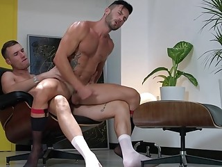 Theo Ford and Andy Star's dirty office hookup