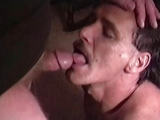 He's well-built for an older guy and his cock is near perfection