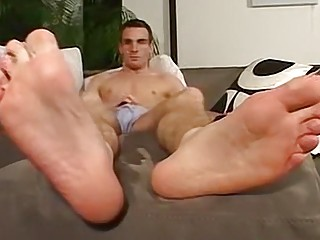 His beautiful feet are sure to get you riled up