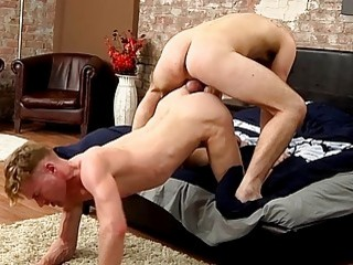 Studs blow each other in a sixty nine before fucking