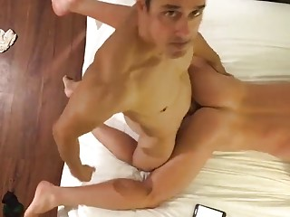 Rafael Alencar fucks a muscled slut doggy style