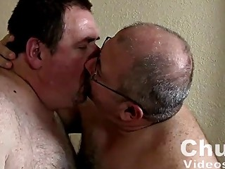 Two nasty and fat bears fuck each other raw