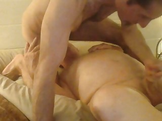 Old man sticks his boner in a young stud
