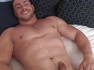 Super hunk Brock breeds his own boner