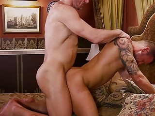 Logan Rogue and Tomas Brand can't control themselves